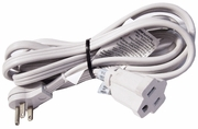 CordSet 9Ft 15A 125v 1875w 14AWG Ext Power Cord E157523