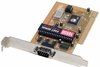 CyberSerial SIIG NinePin I/O Serial Port Card JJ-P01012-B PCI/Single Port