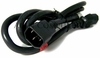 Dell 1.5m Extension Black 125-250v Power Cord 2T260 05W257 - 960-0037 Cable