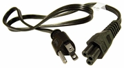 Dell 3.3Ft  5-15 to C5 3-Prong Power Cord New K260C NEMA 5-15 to IE320-C5