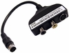 Dell 44CTV S-Video To Rca Audio Video Spdif Cable