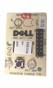 Dell 45VEX button-LED Front Control Panel  Board 88RXM Optiplex GX150 No-Cable