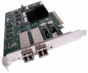 Dell Chelsio iSCSi PCIe 10GB 2-Port X1 Card NEW 42DV1