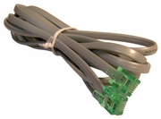 Dell  GX1xx I/O Modem RJ11 Gray Cable NEW Bulk 5000T 4-Pin E133136-A - 26AWG