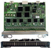 Dell LC-CB-GE-48V 48-Port 1000B-T Line Card Y1PP2 E48VB 48Port E/FE/GE/PoE CB