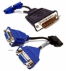 Dell Molex DMS-59 to Dual VGA Y-Splitter Cable G9438 AWM 20276 E52534-D