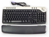Dell PS2 Multimedia Black Silver Keyboard NEW 2R400 NO-USB adapter