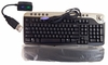 Dell PS2 Multimedia Black Silver Keyboard NEW 2R400 w/ USB Adapter (321711-002)