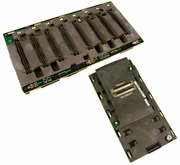 Dell PE 6600 2x4 SCSI Backplane Board Assy 9X620 with Daughter Card