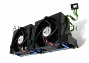 Dell PE2500 Mounting with 2-FAN Assembly 1C347 Rear Bracket