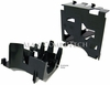 Dell PE2850 HSG PLST 2-60MM Rear Fan Bracket  H2971