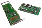 Dell PERC2 PCI to U2- SCSI Controller Card Assy 0650E with Battery Card AAC-9000MD