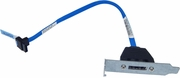 Dell Short Height External SATA Connection New XK064 RW129-GX118 Low Profile Assy