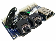 Dell XPS 630 Firewire Audio I/O Board KW397