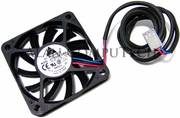 Delta 12v DC 0.12a 10x60mm 3-Wire Fan EFB0612MA-SY56
