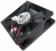 Delta 12v DC 0.18a 2-Wire 2Pin 80x25mm Fan AFB0812M-SB