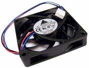Delta 12v DC 0.45a 70x15mm 3-Wire 4-Pin Fan AFB0712HHB