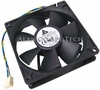 Delta 12v DC 0.60a 90x25mm 4-Wire Fan AUB0912VH-5M92 4-Pin Fan Only 8221W14R