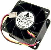 Delta 12v DC 1.20a 60x38mm 3-Wire Fan FFB0612EHE-F00