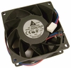 Delta 12v DC 1.35a 80x38mm 3-Wire Fan FFB0812EHE-F00-MM 3-Pin Brushless Server FAN