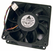 Delta 12v DC 1.50a 90x38mm 4-Wire Fan FFC0912DE-6H16