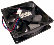 HP Delta 92x25mm 12vdc 0.19a 3-Wire Fan New DSB0912M HP 3-Pin Fan Assembly Bulk