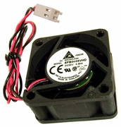 Delta Brushless 40x20mm 5vdc 12in 2wire Fan EFB0405VHD-12 Length of wire: 12in
