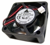 Delta DC 12v 0.15a 2-Wire 50x20mm Fan AUB0512HD 70mm 2 WIRE CABLE