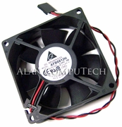 Delta DC 12v 0.24a 80x25mm 2-Wire 5-Pin Fan AFB0812H-SB