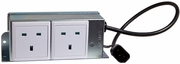 Ergotron Mobile Computing UK Aux Power Outlet EMC-2P