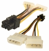 EVGA 6 Pin To 2x Molex Power Splitter Cable G01-PW2-3-4