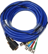 Extron 35Ft 15-Pin HD Male - 5-BNC Male Cable 26-624-35