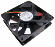 Foxcon DC12v 0.16a 92x25mm 3-Wire FAN New PV902512L-G 1SF 2J 3-Pin Brushless Bulk
