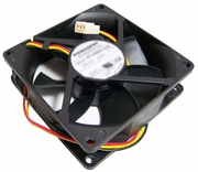 HP 12v DC 0.65a 80x25mm 3-Wire Fan New PVA080G12Q 3-Pin Foxconn New Pull