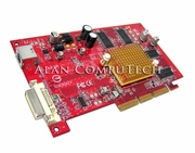 Gateway 610 AGP 128MB A92M NO-Bracket Card 6002923 Ver1.1 M03703  DVI-TV Out