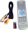 Gateway ADC-220 DVD Remote Control NEW Kit HOF3F117D4 with 2xBattery and Cable
