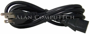 Gateway King-Cord 10A 125v PC Black Power Cord 8003840