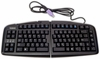 Goldtouch V2 Arabic USB PS2 Ergo Keyboard New GTN99AR