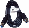 Hotron 6-FT Highspeed USB 3.0 A-B M-M Cable 5KL2E04503 USB 3.0 Type A to Type B