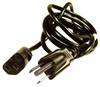 HP 10A 125V 18AWG 6ft Black Power Cord 453070800150R E301567-D / 8AWGX3C Cable