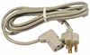 HP 10a 125vAC 90-Deg 6.6ft C13 Power Cord NEW 8120-6776 2.0m Dove Gray Cable Bulk