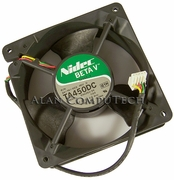 HP 12v DC 0.8a 119x38mm 5-Pin 4-Wire FAN 241761-001 B34262-34 CQ1 TA450DC Rev.B
