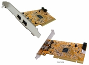 HP 1394 Firewire Dual Port PCI FH Card New 354614-008 IEEE-1394A Full Height Card