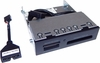 HP 14-in-1 USB2/3 3.5in Media Card Reader 716390-001 742863-001 698661-001