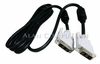 HP 19pin 6ft DVI-M to DVI-M Black Cable NEW Bulk DC198A