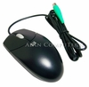 HP 2-Button PS2 Carbonite Scroll Mouse 334684-002 with Wheel