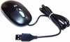 HP 2-Button Scroll Carbon USB Mouse 390939-001 155161-003 Black
