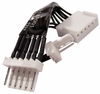HP 6-To-2Pin and 6Pin 2-Way Splitter NEW 697018-001