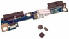 HP 2540p 455N2T32L01 SATA Connector Board LS-5256P KAT10 with Screws Assembly