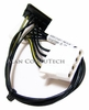 HP 2x4-pin-M-F to SATA 8in Power Cable 446473-001